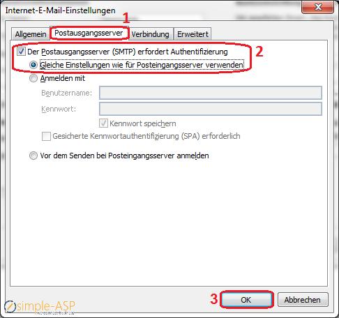 SimpleASP_Knowledebase_Der_SMTP_erfodert_Authentifizierung