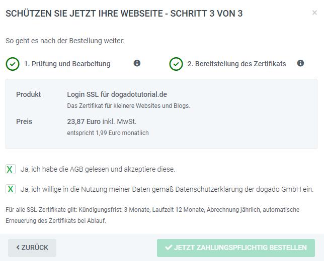 Wie Bestelle Ich Ein Ssl Zertifikat Für Meine Domain In Cloudpit